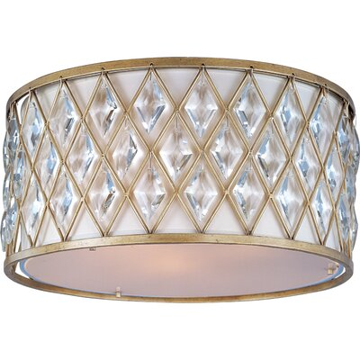 Charlemagne 3-Light Flush Mount