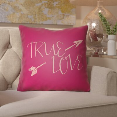 Bradford-on-Avon Indoor/Outdoor Throw Pillow Size: 20 H x 20 W x 4 D, Color: Pink