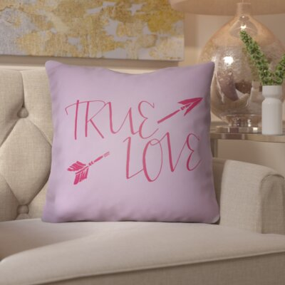 Bradford-on-Avon Indoor/Outdoor Throw Pillow Size: 18 H x 18 W x 4 D, Color: Light Purple