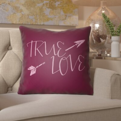 Bradford-on-Avon Indoor/Outdoor Throw Pillow Size: 18 H x 18 W x 4 D, Color: Dark Purple