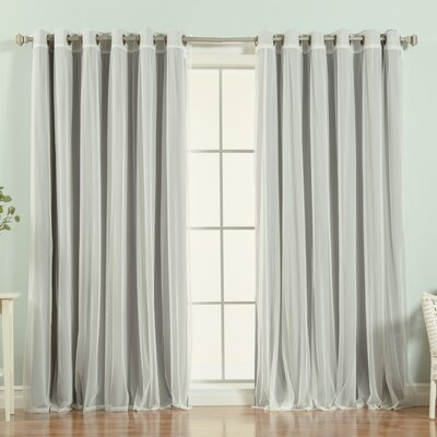Anabelle Blackout Thermal Single Curtain Panel
