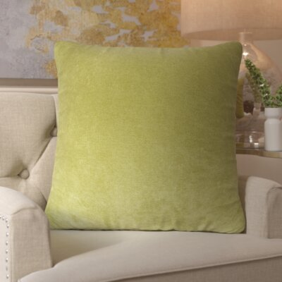 Edwards Throw Pillow Color: Apple - Green, Size: Extra Large