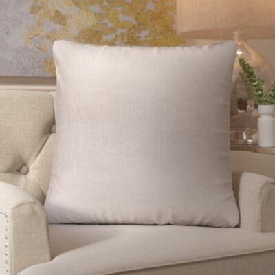 Izabel Pillow Cover Size: 18 H x 18 W x 1 D, Color: Neutral