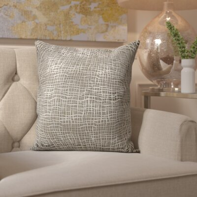 Dursley Natural Hide Throw Pillow