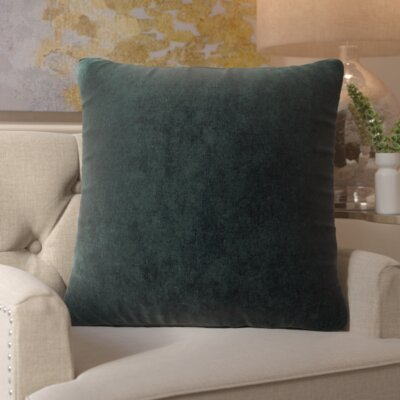 Edwards Throw Pillow Size: Large, Color: Apple - Green