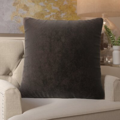 Bramma Throw Pillow Color: Storm, Size: Extra Large