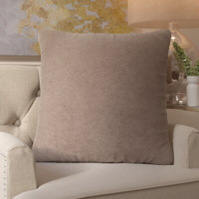 Edwards Throw Pillow Size: Large, Color: Pearl
