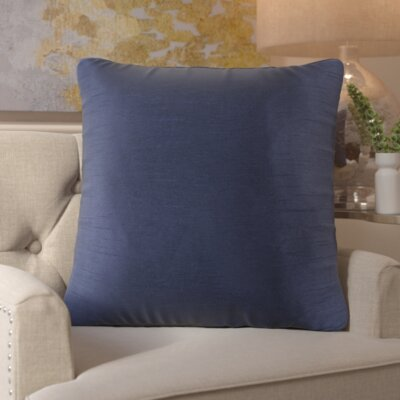 Simone Pillow Cover Size: 18 H x 18 W x 1 D, Color: Blue