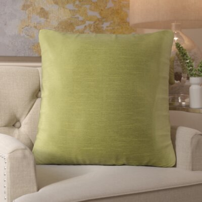 Simone Pillow Cover Size: 18 H x 18 W x 1 D, Color: Green