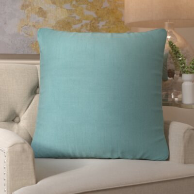 Simone Pillow Cover Size: 18 H x 18 W x 1 D, Color: Emerald