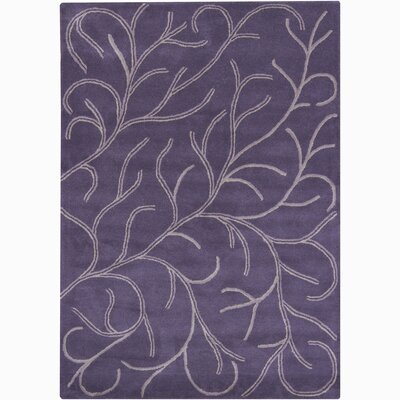 Gilda Purple Coral Area Rug Rug Size: Rectangle 5 x 76