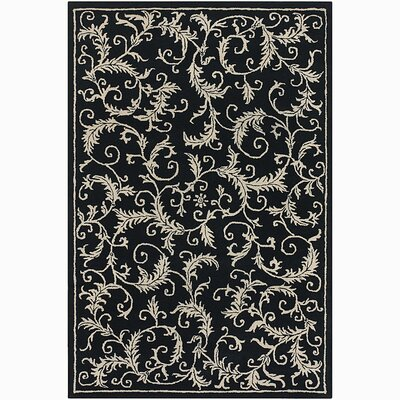 Robbins Leaves Rug Rug Size: Rectangle 79 x 106