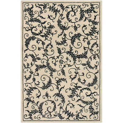 Robbins Area Rug Rug Size: Rectangle 79 x 106