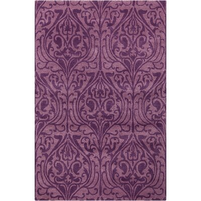 Dollins Lavender/Purple Area Rug Rug Size: 79 x 106