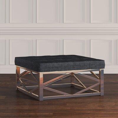 Gilham Ottoman Upholstery: Dark Gray