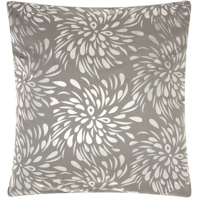 Celestiel Throw Pillow Color: Silver Gray