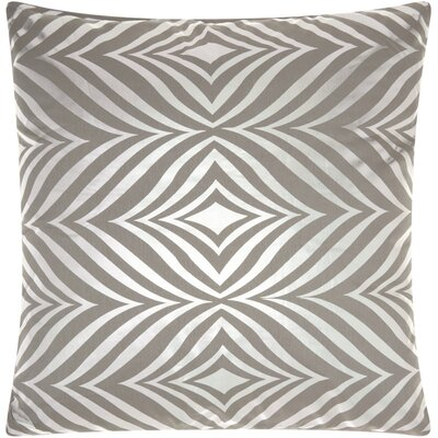 Fedor Throw Pillow Color: Silver Gray