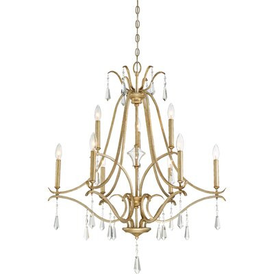 Fealty 9-Light Candle-Style Chandelier