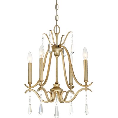 Fealty 4-Light Candle-Style Chandelier