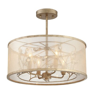 Fernand 4-Light Semi-Flush Mount