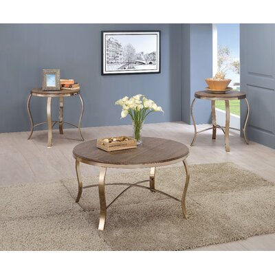 Kallie 3 Piece Coffee Table Set