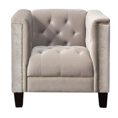 Broughtonville Armchair Upholstery: Milky Beige