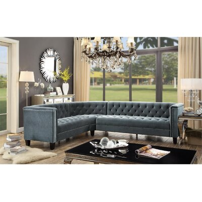 Broughtonville Sectional Upholstery : Gray