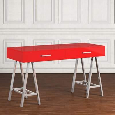 Griffin Writing Desk Finish: Red