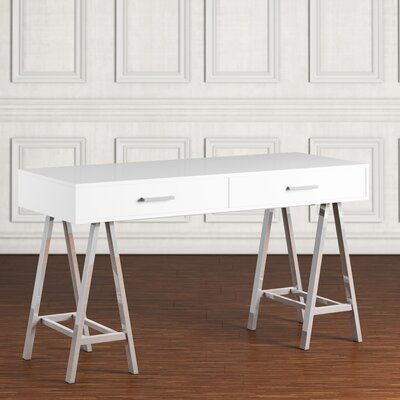 Griffin Writing Desk Finish: White