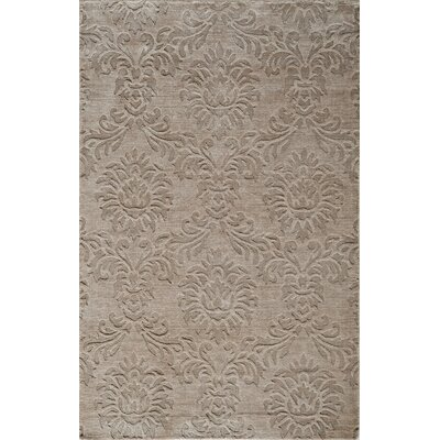 Selena Hand-Loomed Sand Area Rug Rug Size: Rectangle 96 x 136
