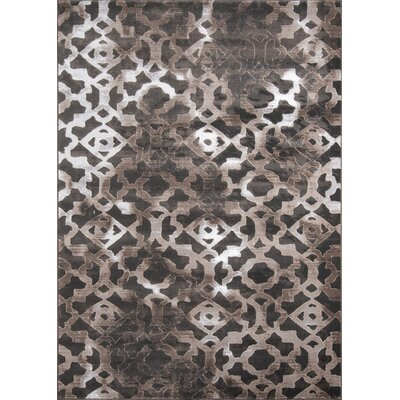 Ozzy Brown Area Rug Rug Size: 2 x 3
