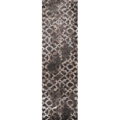 Ozzy Brown Area Rug Rug Size: Runner 23 x 76
