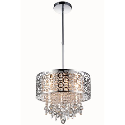 Cline 5-Light Crystal Pendant