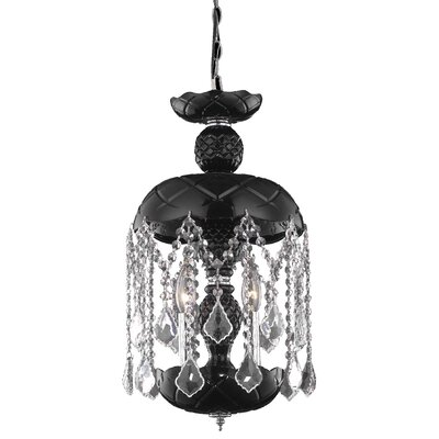 Carmen  3-Light Mini Pendant Finish: White