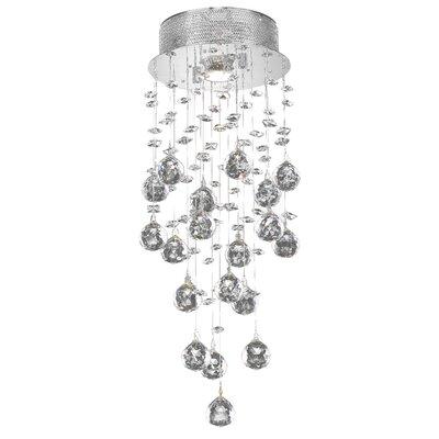 Colne  1-Light Flush Mount Crystal Grade: Swarovski Element