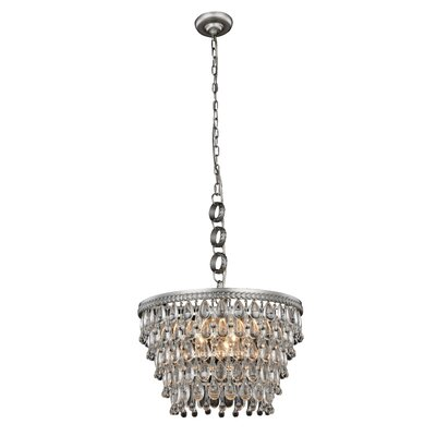 Bellinger 5-Light Crystal Chandelier