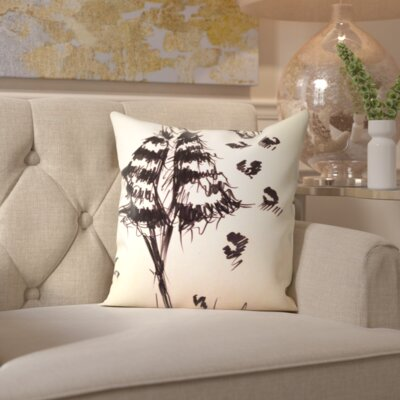 Garrison Fierce in Fur Throw Pillow Size: 18 H x 18 W x 2 D