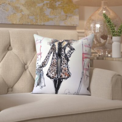 Homedale The Fix Throw Pillow Size: 18 H x 18 W x 2 D