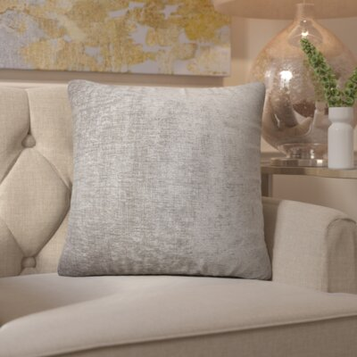 Brosley Velvet Throw Pillow Size: 20 H x 20 W