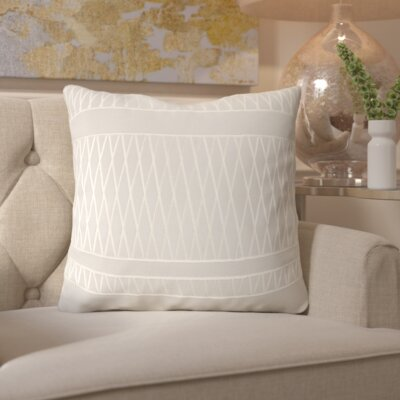 Davis Square Throw Pillow Size: 18 H x 18 W x 4 D
