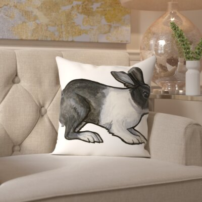 Priscilla Throw Pillow Size: 18 H x 18 W x 2 D