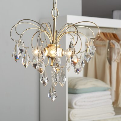Oriana 4-Light Crystal Chandelier