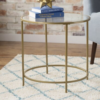 Broadridge Round End Table