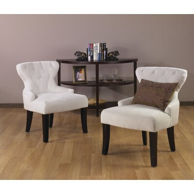 Elvie Upholstered Side Chair Upholstery: Oyster Polyester