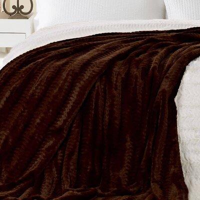 Hartzog Luxe Throw Blanket Color: Cream
