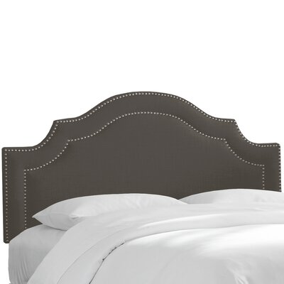 Fleischmann Arch Upholstered Panel Headboard Size: California King, Upholstery: Slate