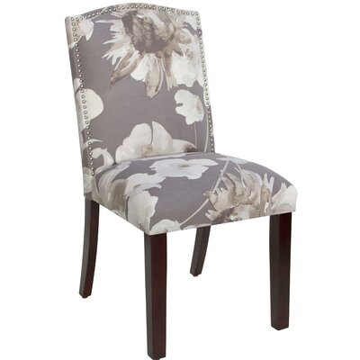 Dulce Parsons Chair Upholstery Color: Adagio Driftwood