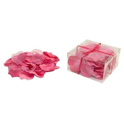 Faux Rose Petals Flower Color: Mauve