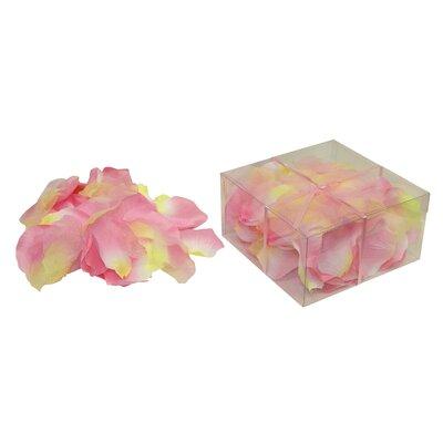 Faux Rose Petals Flower Color: Two-Tone Pink