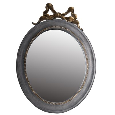 Oval Resin/Glass Accent Mirror HOHM1704 34277367
